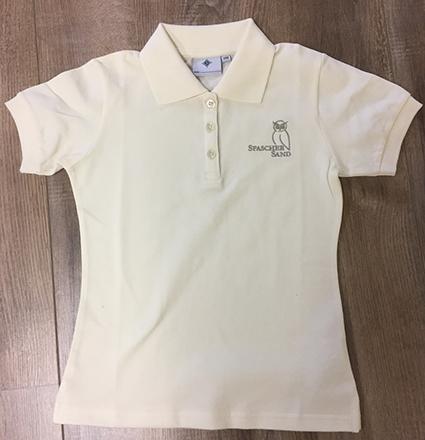 Poloshirt Damen Kurzarm, Gr. XS-XL, beige