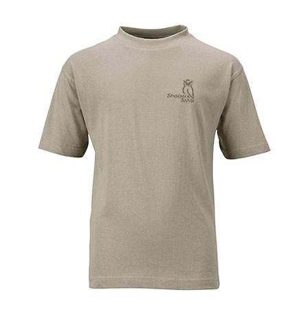 T-Shirt Kids - unisex, Gr. 104-164 ( Khaki und Braun)