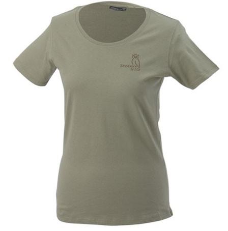 T-Shirt Damen, Gr. S-XXL, khaki