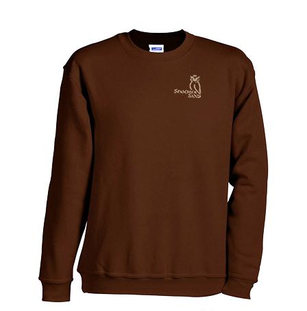 Sweatshirt Kinder, Gr. 104- 164, braun