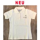 Poloshirt Mädchen Kurzarm - tailliert -100% Baumwolle (Gr. 140 + 152)